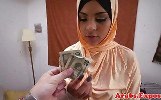 Stopped up arab habiba cumsprayed encircling frowardness