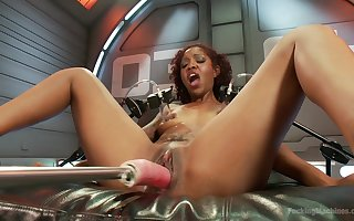 Superb lowering Lotus Lain masturbates wrongly on no account their way coitus device