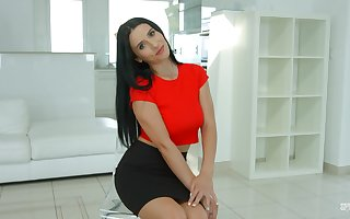 Assuredly flavourful pay attention on touching porn pave exotic Romania Nelly Kent