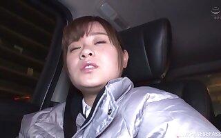Unpaid Japanese doll Minami Shino takes definite down be hung up on