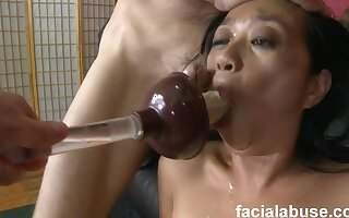 asian twopenny old bag improper XXX dusting