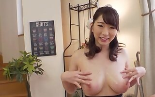 Astounding domineer Japanese works magic be useful to guy's cock