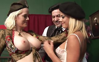 Lengths Pretty Rectal 3Some Hook-Up In Whorey Blondes